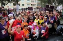 ŞİDDETE HAYIR - Kadınlar Gaziemir'de 'Hakları' İçin Koştu