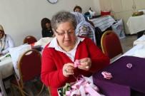 RADYOTERAPİ - Kansere İnat Hayatı 'Nakış' Gibi İşliyor