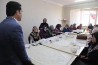 BAHÇECIK - Milletvekili Yaman, KO-MEK Kursiyerlerini Ziyaret Etti