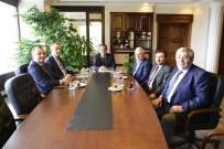 BÜLENT ECEVIT - Özer,TSO Başkanları İle Bir Araya Geldi