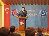 DÖNER SERMAYE - Türk Sağlık-Sen Niğde Şube Başkanı Adnan Özer;