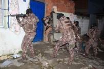 SABAH EZANı - 400 Polisle Hava Destekli Operasyon!