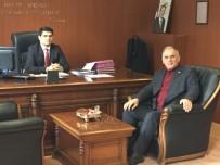 AK Parti'den Mahmudiye İlçe Kaymakamına 'Hoş Geldin' Ziyareti