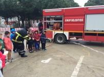 Ana Sınıflarına Uygulamalı Yangın Tatbikatı