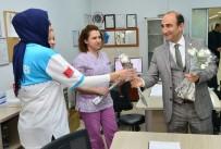 GÖZ HASTALIKLARI - Başkan Edebali Sağlık Çalışanlarının Bayramını Kutladı