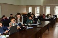 HABITAT - Dinar'da 90 Öğrenciye Yazılım Kursu Verildi