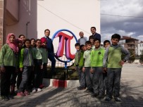PI SAYıSı - -Dünya Pi Gününde Ortaokula 'Şampiyon Pi' Heykeli