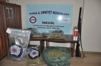 TURGUTALP - Gizli Bölmelerden Uyuşturucu Çıktı