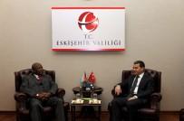 GÜNEY AFRIKA CUMHURIYETI - Güney Afrika Cumhuriyeti Ankara Büyükelçisi Malefane, Vali Çelik'i Ziyaret Etti
