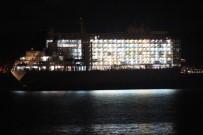 KIYI EMNİYETİ - Hayvan Gemisi Çanakkale Boğazında Arıza Yaptı