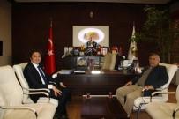 İl Özel İdare Genel Sekreteri Benli'den, Başkan Karaaslan'a İade-İ Ziyaret