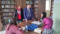 MURAT DURU - Kaymakam Murat Duru Halkeğitim Kütüphanesini Ziyaret Etti