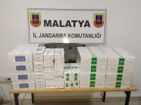 OKUL SERVİSİ - Malatya'da 4 Bin 440 Paket Kaçak Sigara Ele Geçirildi