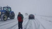 BAHAR HAVASI - Niğde'de Kar Yağışı