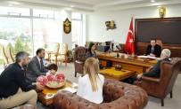 MUSTAFA ASLAN - Özel Olimpiyatlar Türkiye Heyetinden ADÜ'ye Ziyaret