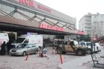 YARALI ASKERLER - Suriye Sınırında Mayın Patladı Açıklaması 2 Asker Yaralı