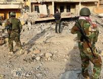 İZİNSİZ YÜRÜYÜŞ - Terör örgütü PKK yanlısı grupla Peşmerge arasında arbede