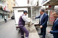FUZULİ - Yaralı Köpeğin Hayatını Belediye Başkanı Kurtardı