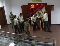 JANDARMA GENEL KOMUTANI - 15 Temmuz gecesi Jandarma Genel Komutanlığı'ndaki görüntüler çıktı