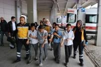 HARRAN ÜNIVERSITESI - 26 öğrenci pastadan zehirlendi