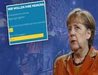 SKANDAL - Alman kanalının 'yasak' anketinde 'Hayır' şoku!