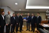 MEDIKAL - ASKON Ve Özbek Diplomatlardan Adana Sanayi Odası'na Ziyaret