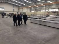 ALÜMİNYUM - Başkan Şahin Ve Başkan Yaman'ın Fabrika Ziyareti