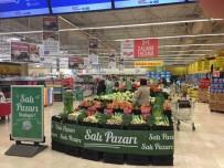 SEMT PAZARI - Carrefoursa 'Salı Pazarı' İle Semt Pazarlarını Hipermarketlerine Taşıdı