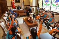 Erzincan Doğa Koleji Öğrencilerinden Valiliğe Ziyaret