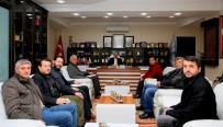 ESNAF ODASı BAŞKANı - Eski Hal Caddesi Esnafından Dişli'ye Ziyaret