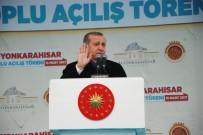 HİDROELEKTRİK SANTRALİ - Fatih Sultan Mehmet'i Örnek Gösterdi, 18 Yaşa Vurgu Yaptı