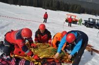 TATBIKAT - Ilgaz Dağı'nda 'Kış Kurtarma Tatbikatı' Yapıldı