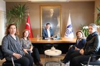 TAŞKıRAN - Kadın Muhtarlar Başkan Kocadon'u Ziyaret Etti