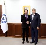 AVRUPALı - Karahan, ADÜ Rektörü Bircan'ı Ziyaret Etti