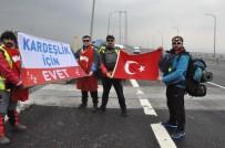 JANDARMA GENEL KOMUTANLIĞI - Kardeşliğe 'Evet' İçin Osmangazi Köprüsünden Yürüyerek Geçtiler