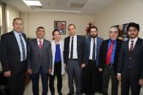 MUSTAFA ÖZDEMIR - Niğde Belediye Başkanı Faruk Akdoğan'dan Hastane'ye Kutlama Ziyareti