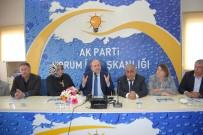 Osmancık'lı Muhtarlar AK Partiyi Ziyaret Etti