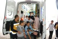 HARRAN ÜNIVERSITESI - Şanlıurfa'da 26 Öğrenci Doğum Günü Pastasından Zehirlendi