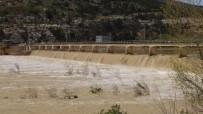SEL BASKINI - Silifke'de Göksu Irmağının Debisi Yükseldi, Bin 109 Dekar Alan Zarar Gördü
