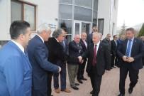 BARıŞ DEMIRTAŞ - Vali Kamçı İncesu OSB'de Sanayicilerle Bir Araya Geldi