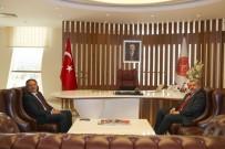 YUSUF ŞAHIN - Aksaray Üniversitesi Rektörü Prof. Dr. Yusuf Şahin'den Rektör Bağlı'ya Ziyaret
