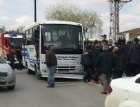 Ankara'da korkunç kaza: 2 ölü, 1 yaralı