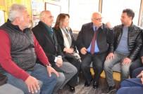 ŞEHİT POLİS - Bakan Avcı Taksi Durağını Ziyaret Etti