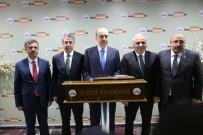 GÖREV SÜRESİ - Başbakan Yardımcısı Kurtulmuş, Başkan Yanılmaz'dan Bilgi Aldı