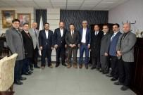 MUSTAFA AKIŞ - Başkan Bakıcı Büro-Sen Temsilcileri İle Görüştü