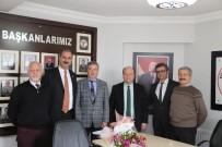 MESUT ÖZAKCAN - Başkan Özakcan, Aydın Tabip Odasını Ziyaret Etti