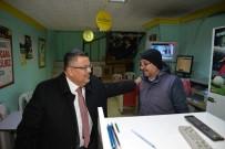 SELIM YAĞCı - Başkan Yağcı'nın Esnafı Referandum Bilgilendirmesi Devam Ediyor