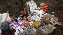 Bingöl'de Mühimmat Ve Gıda Bulunan 3 Sığınak Ele Geçirildi