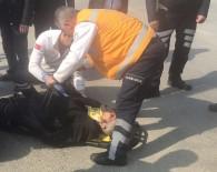 TİCARİ ARAÇ - Düzce'de Kaza 1 Yaralı