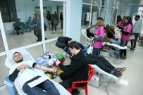 KAN BAĞıŞı - GAÜN Öğrencileri Kan Bağışında Bulundu